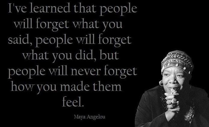 Maya Angelou Quotes: Bearsden Academy's English Blog